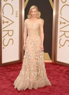 Las Mejor Vestidas Oscar 2014 - Cate Blanchett