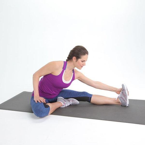 Complementa el ejercicio con estiramientos