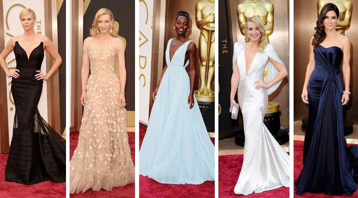 ¿Quién iba Mejor y Peor Vestida en la Gala de los Oscar 2014?