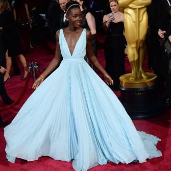 Las Mejor Vestidas Oscar 2014 - Lupita Nyong'o