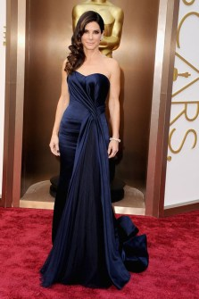 Las Mejor Vestidas Oscar 2014 - Sandra Bullock