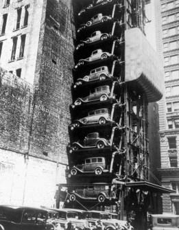 Fotografías Vintage que ya no se volverán a Repetir - Parking Vertical
