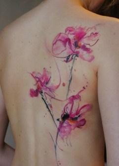 Tatuajes Acuarela - Aleksandra Katsan - Tattooed Paradise, Kiev, Ucrania