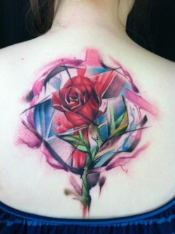 Tatuajes Acuarela - Krist Karloff - New Breed Tattoos, West Lafayette, Indiana