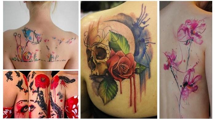 Los 20 Mejores Tatuajes Acuarela.