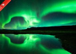 Los más bellos Glaciares y Auroras Boreales Grabados en Time-Lapse.