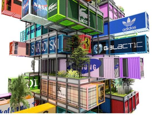 Un Nuevo Concepto de Hotel en Contenedores Portátiles.