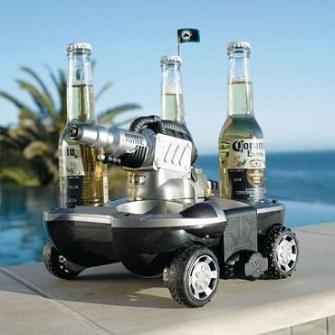 Gadgets de Playa - Robot para llevar bebidas