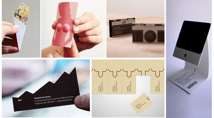 18 Tarjetas de Visita Ultra Creativas.