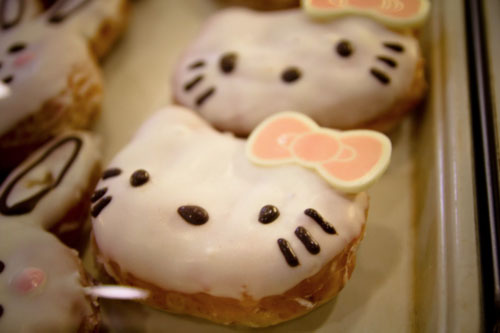 Bocaditos de Hello Kitty - Rosquillas de Hello Kitty