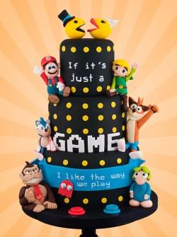 Tartas de Boda para Freaks - Súper Mario Bros