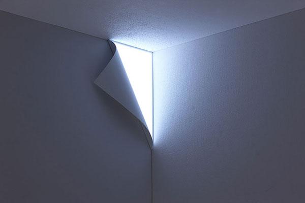 Lámpara Minimalista Esquinera