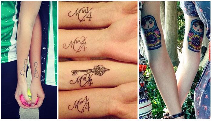 18 Tatuajes Mejores Amigas Que Os Harán Inseparables