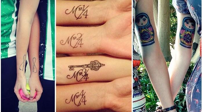 18 Tatuajes Mejores Amigas que os harán Inseparables.