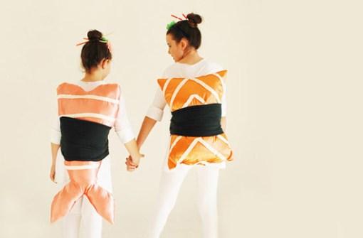 Disfraces para ir en Pareja - Disfraz de Sushi.