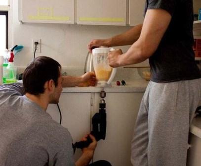 Inventos Caseros Rudimentarios que Realmente Funcionan - Batidora taladro