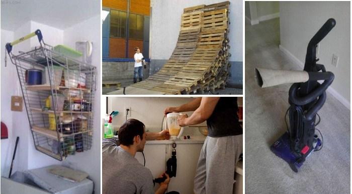 17 Inventos Caseros Rudimentarios que Realmente Funcionan.