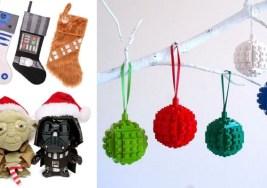 Adornos de Navidad Geek que Querrás poner en tu Árbol.