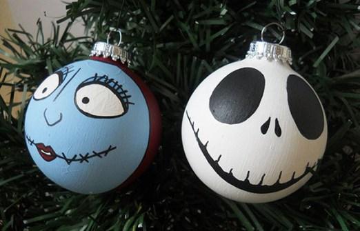 Adornos de Navidad Nightmare before Bhristmas