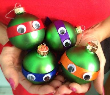Adornos de Navidad Tortugas Ninja