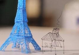 ¿Cómo pinta un bolígrafo en 3D?