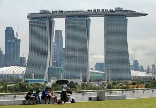 Hotel Marina Bay. Singapur.