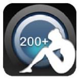 Aplicación Abdominales 200 + Lite.