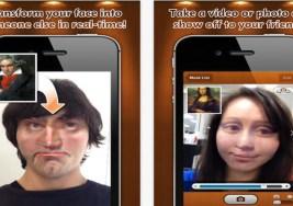 Transformar tu cara con distintas apariencias.