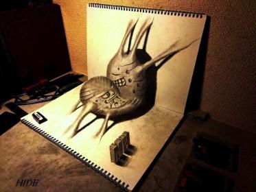 Artistas del Lápiz. Nagai Hideyuki.