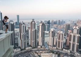Dubai desde el aire.