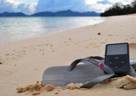 Canciones para escuchar en la playa.
