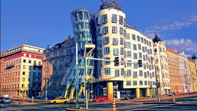 La casa Danzante. Praga.