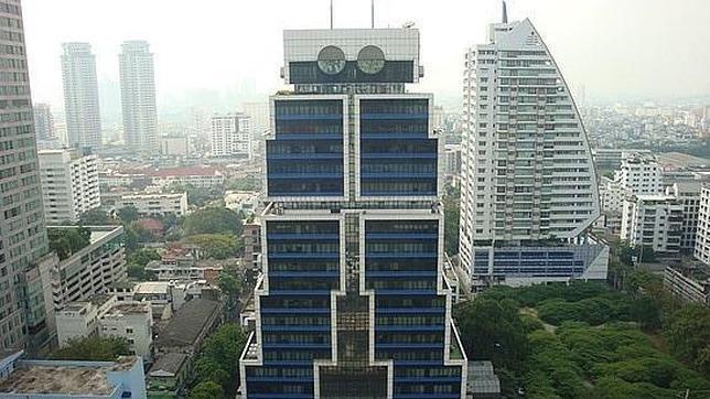 Edificio Robot. Bangok.