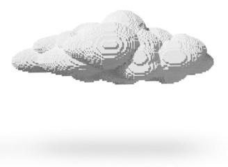 Escultura Lego Nube.