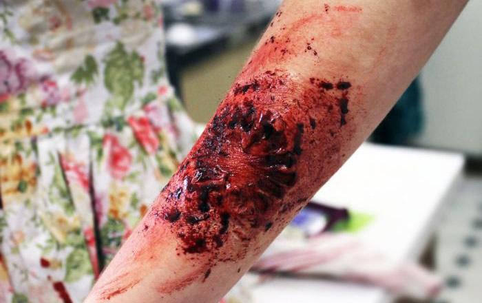 Maquillaje para una fiesta Zombie