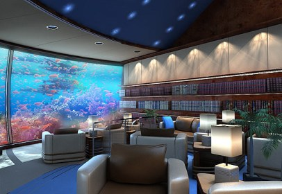 Hotel Bajo el Mar en Fiji. Salones.