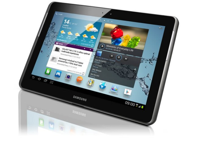 Las mejores Tablets del mercado. Tablet Samsung GalaxyTab 2 10.1