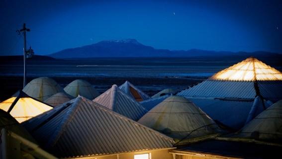 Hotel de Sal en Bolivia.