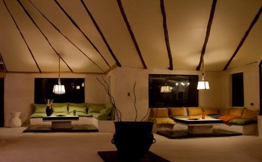 Hotel de Sal en Bolivia. Interior.