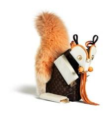 Ardilla Louis Vuitton por Billie Achilleos