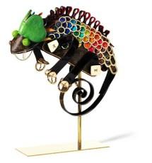 Camaleón Louis Vuitton por Billie Achilleos