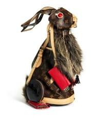 Conejo Louis Vuitton por Billie Achilleos