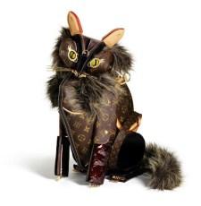 Gato Louis Vuitton por Billie Achilleos