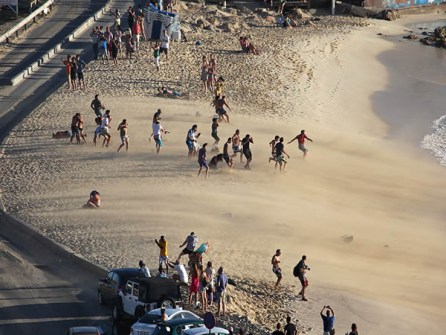 Aterrizajes en la playa