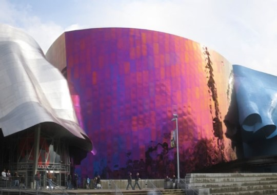 Museo Experience Music Project. Seattle.