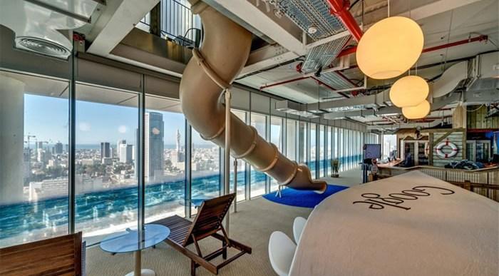 ¿Se parece tu oficina a la de Google en Israel?