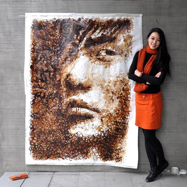 Retrato Yao Ming