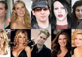 Transformaciones Impresionantes. Famosas sin Maquillaje.