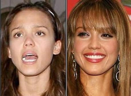 Transformaciones Impresionantes Jessica Alba sin Maquillarse.