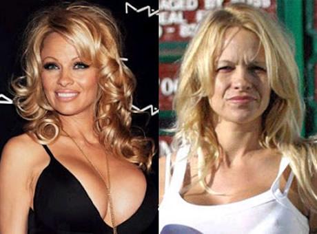 Transformaciones Impresionantes Pamela Anderson sin Maquillarse.